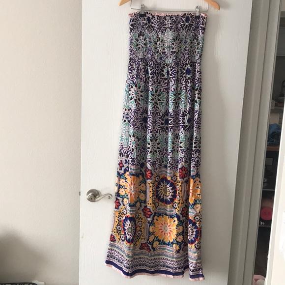507666e824 Angie Tube maxi dress sz M
